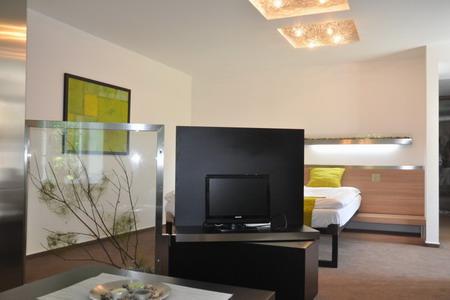 Ubytování Beskydy - Penzion v Beskydech - společenská místnost